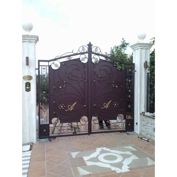 Eccezionale Cancelli recinzioni ringhiere acciaio inox e ferro Eboli Salerno CB93